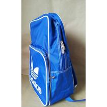 Mochila Adidas Azul Back Pack Original Nova Com Tag Adidas