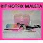 Kit Hotfix Maleta +caneta Aplicadora +10500 Strass +20 Itens