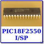01 Microcontrolador Pic18f2550 ? I/p - Pic 18f