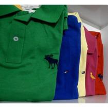 Camisa Camisetas Polo Varias Marcas Nike Hollister Kit.c3