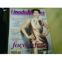 Revista Moda Moldes N°147 Claudia Raia Com Moldes
