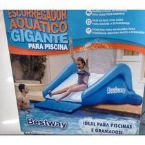 Escorregador De Ar Inflável Bestway Gigante Piscina Gramado