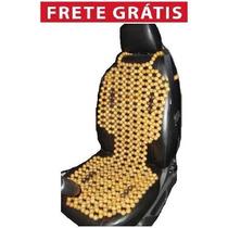 Capa Massageadora De Bolinha Para Banco De Carro Ortopédica