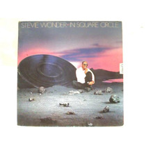 Stevie Wonder In Square Circle Lp Vinil Disco Motown 1985