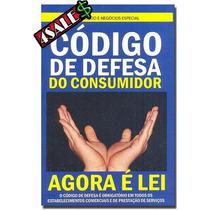 100 Livros Código Defesa Do Consumidor Agora É Lei 8078/1990