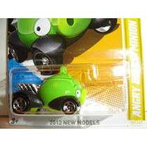 Hot Wheels Angry Bird Minion Porco Verde