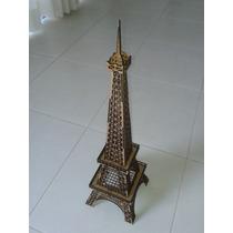 Torre Eiffel Em Mdf 3mm, 60cm Altura Para Montar
