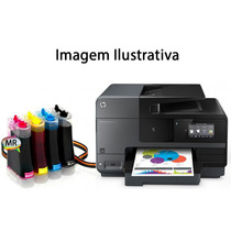 Multifuncional Hp Officejet Pro 8620 Com Bulk Ink E Wi-fi