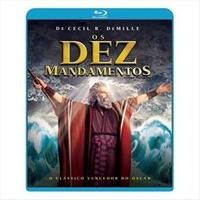Os Dez Mandamentos (charlton Heston) Blu-ray