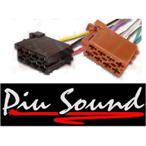 Chicote Conector Para Dvd Hbd2480 Hbuster Plug Iso 16vias