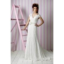 Mega Promoção Vestido De Noiva Em Renda Chantilly Sob Medida