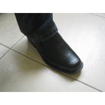 Sapato Social Couro Masculino Preto Frete Fixo Couro Legitim