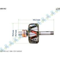 Rotor Para Alternador Colheitadeira 8055 Ford - Arielo