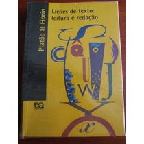 Lições De Texto: Leitura E Redação -