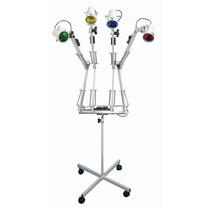 Luminaria Para Cromoterapia Com 4 Focos De Luz