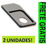 Adaptador Micro Sim Card Iphone 4 4s Ipad Ipad2 Frete Grátis