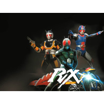Kamen Rider Black Rx 12 Dvds
