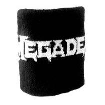 Munhequeira Megadeth Metal Thrash Dave Acessórios Banda Cd