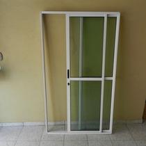 Porta Sacada 2.fls De Alum 2.10 X 1.50 Branca L-25