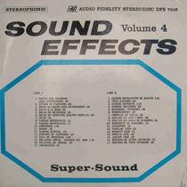 Efeitos Sonoros Lp Argentino Usado Audio Fidelity Volume 4