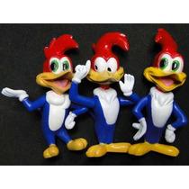 3 Bonecos De Pica Pau Woody Woodpecker Bonecos