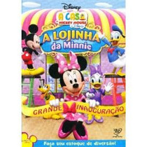 Dvd A Casa Do Mickey Mouse A Lojinha Da Minnie