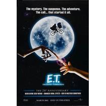 Poster Cartaz Et - O Extraterrestre #4 E.t. Extra Terrestre