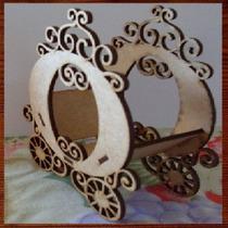 Miniaturas Decorativas Em Mdf - Carruagem