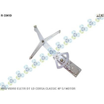 Maquina De Vidro Eletrica Dianteira Ld Le Corsa Classic 4p