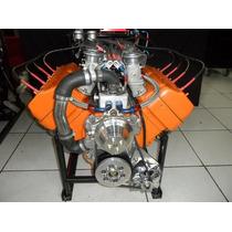 Motor Chrysler Hemi V8 331 Hot Rod Nostalgia Injetado