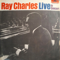 Lp Vinil - Ray Charles Live In Concert
