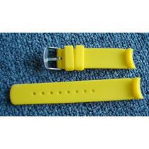 Relógio Nautica Só Pulseira 2,2cm Largura Nova Silicone