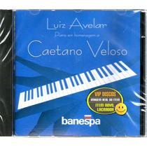 Cd Piano Em Homenagem A Caetano Veloso Luiz Avelar Raro