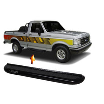 Estribo Tubular Plataforma Preto F1000 Cabine Simples