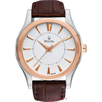 Relógio Bulova Dress Leather 98a119