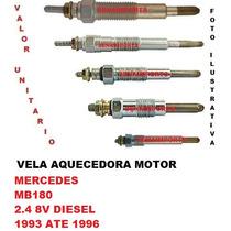 Vela Aquecedora Mercedes Mb180 2.4 8v Diesel 1993 Ate 1996