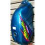 Kit Pintura Cbx200 Strada Pintado Moto Zero Azul