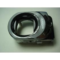 Frente Do Otico Com Microfone Filmadora Sony Sx44 Usado