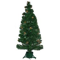 Árvore Pinheiro De Natal Com Pinhas 1,20m 064