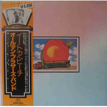 Allman Brothers Band Lp Duplo Importado Japão Eat A Peach 72