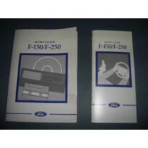 Ford F150 Manual Do Proprietario Em Ingles Original 97