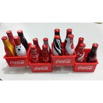 Coleção Mini Garrafinhas Coca Cola Da Galera + Engradados