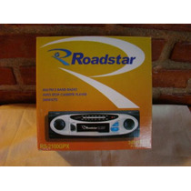 Radio-tocafitas Roadstar - Entrada Para Mp3