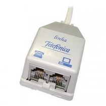 Kit Micro Filtro De Linha 2 Unidades (1 E 2 Saídas) Novo