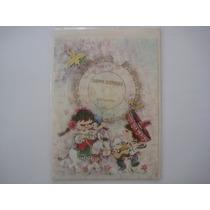 Cartão Aniversário Com Mini Disco Vinil Anos 70/80 - Sem Uso