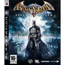 Batman Arkham Asylum Jogo Ps3 Impecavel Envio Sedex A Cobrar