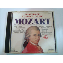 Cd Mozart (master Of Classical Music) Importado