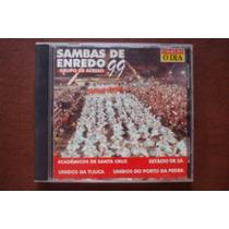 Cd Sambas De Enredo Escolas De Samba Acesso Carnaval 1999