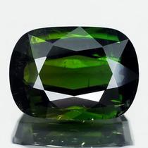 Joalheriavip Turmalina Cushion Verde Escuro 100% Natural