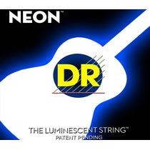 Cordas Dr Neon O.11/0.50 Violão Branca